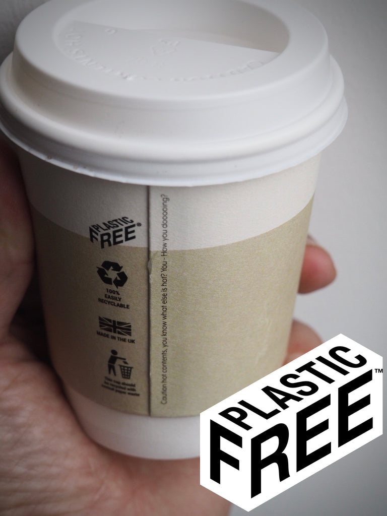 LBM launches plastic lining free recyclable take away cup.