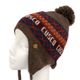 CUSCO BEANIE (BROWN) - Yosuzi