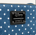 Cartera Loungefly Disney Minnie Mouse Mezclilla - To Be Fashion Action