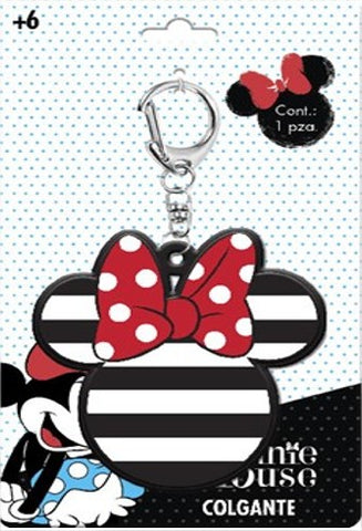 Llavero Minnie logo rayas - To Be Fashion Action