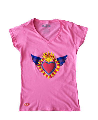 Playera Corazón Mujer - To Be Fashion Action