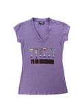 Playera Yo No Discrimino Mujer - To Be Fashion Action