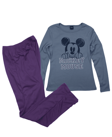 Pijama Disney Mickey Mujer - To Be Fashion Action