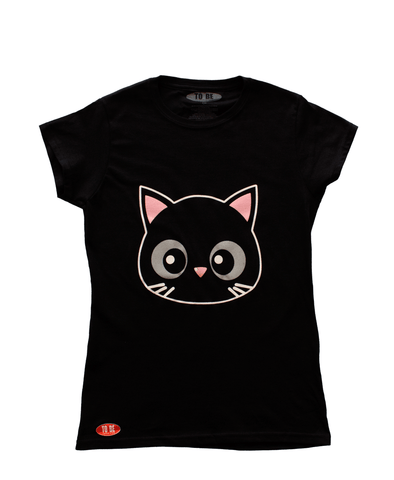 Playera Gato Mujer - To Be Fashion Action
