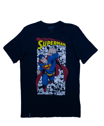 Playera Superman Hombre - To Be Fashion Action