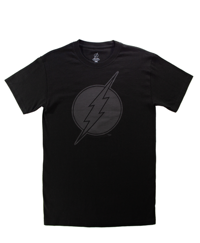 Playera Flash Black Hombre - To Be Fashion Action