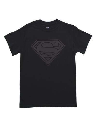 Playera Superman Black Hombre
