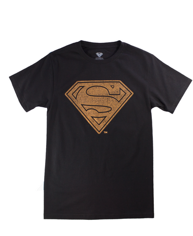 Playera Superman Gold Hombre - To Be Fashion Action