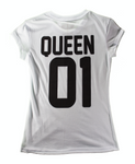 Playera Parejas Queen Mujer - To Be Fashion Action