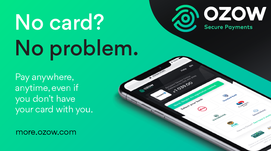 Ozow secure payments