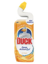 Duck Toilet Cleaner Deep Action Gel - Citrus
