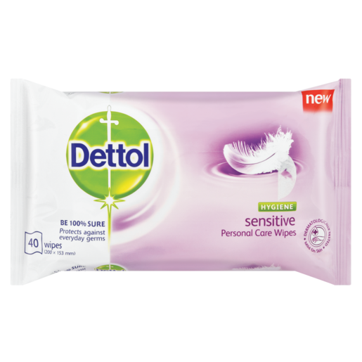 Dettol Hygiene Wipes Sensitive
