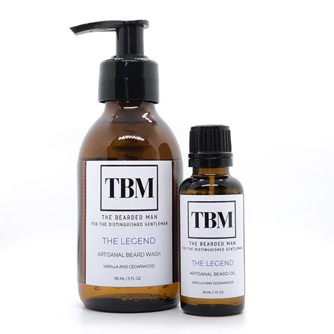 The Bearded Man - Artisanal Wash and Oil Combo