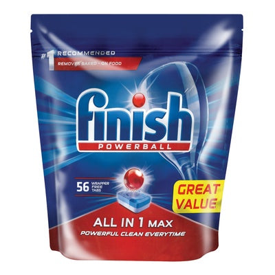 Finish Dishwasher Regular Tablets - 56