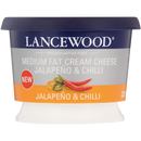 Lancewood Jalapeno & Chilli Medium Fat Cream Cheese