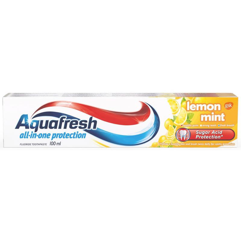 Aquafresh Lemon & Mint Toothpaste 100ml