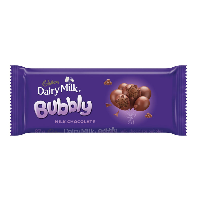Cadbury Dairy Milk Bubbly Slab 87g