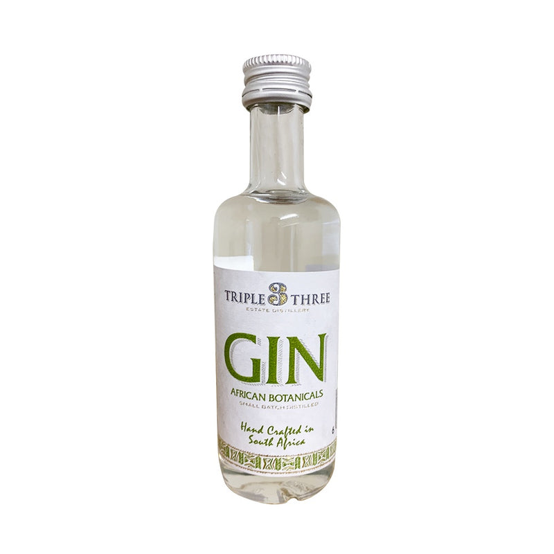 Triple Three Gin African Botanicals Mini 50ml