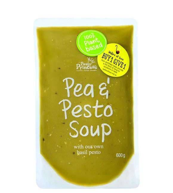 Pesto Princess Pea & Pesto Soup