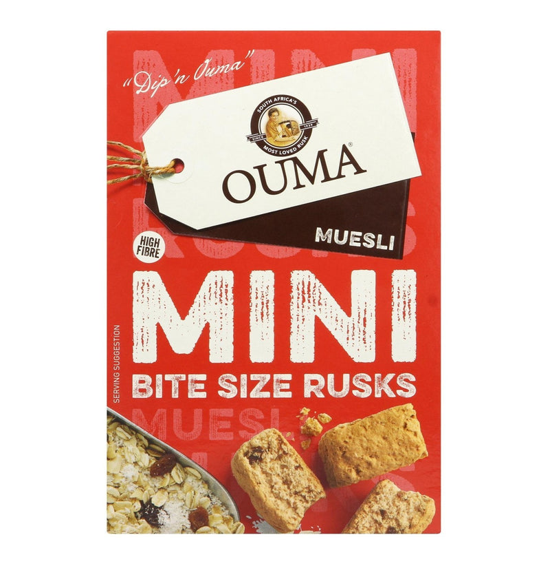 Ouma Mini Rusks Muesli