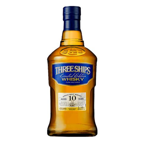 Three Ships 10 Year Old Single Malt Whisky 750ml