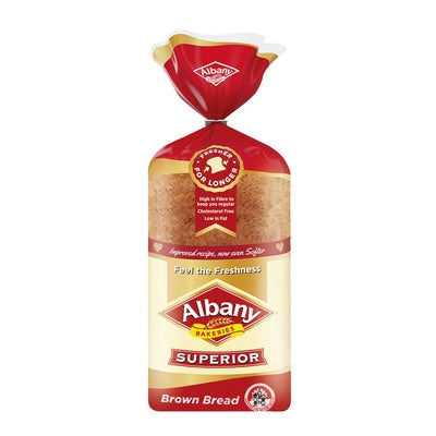 Albany Superior Sliced Bread - Brown