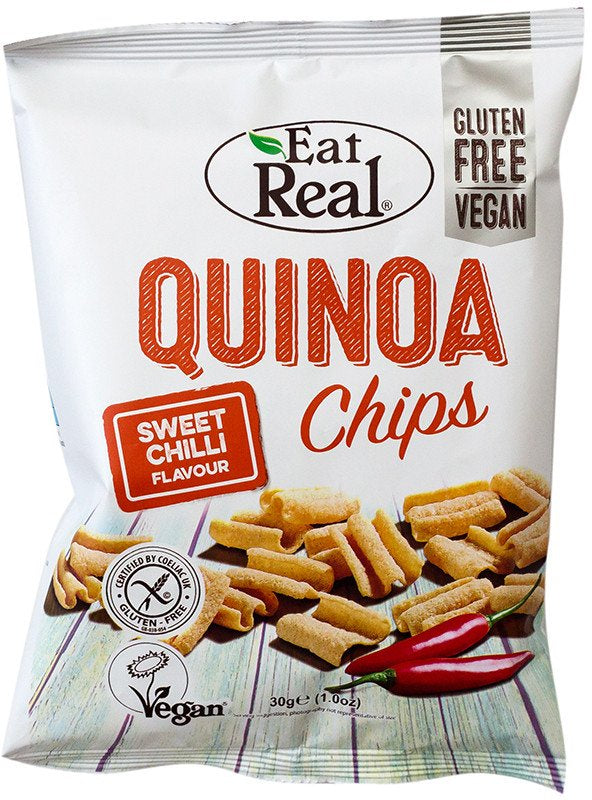Eat Real Quinoa Chips - Sweet Chilli - 30g