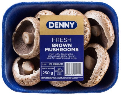 Denny Brown Mushrooms - 250g