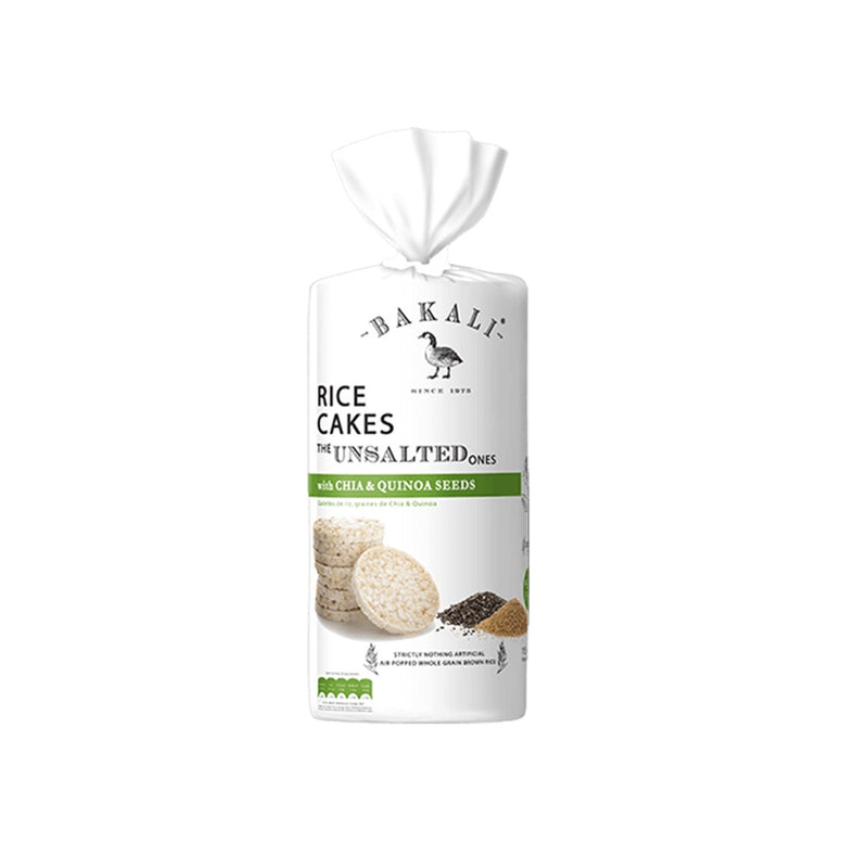 Bakali Unsalted  Rice Cakes  115g