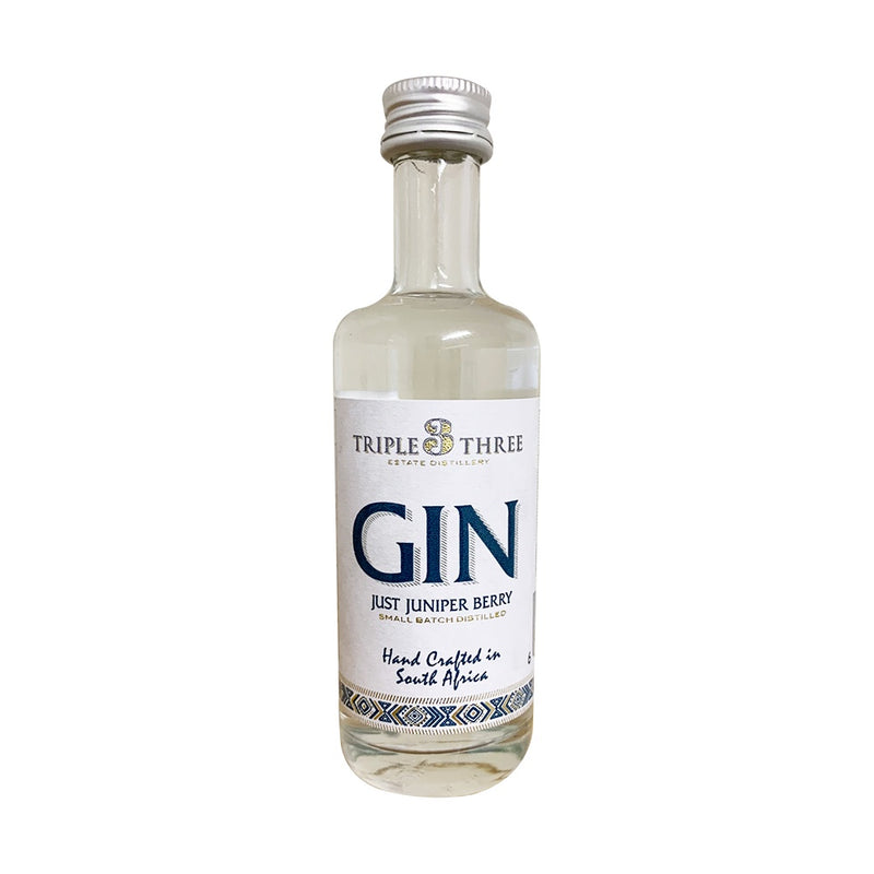 Triple Three Gin Just Juniper Berry Mini 50ml