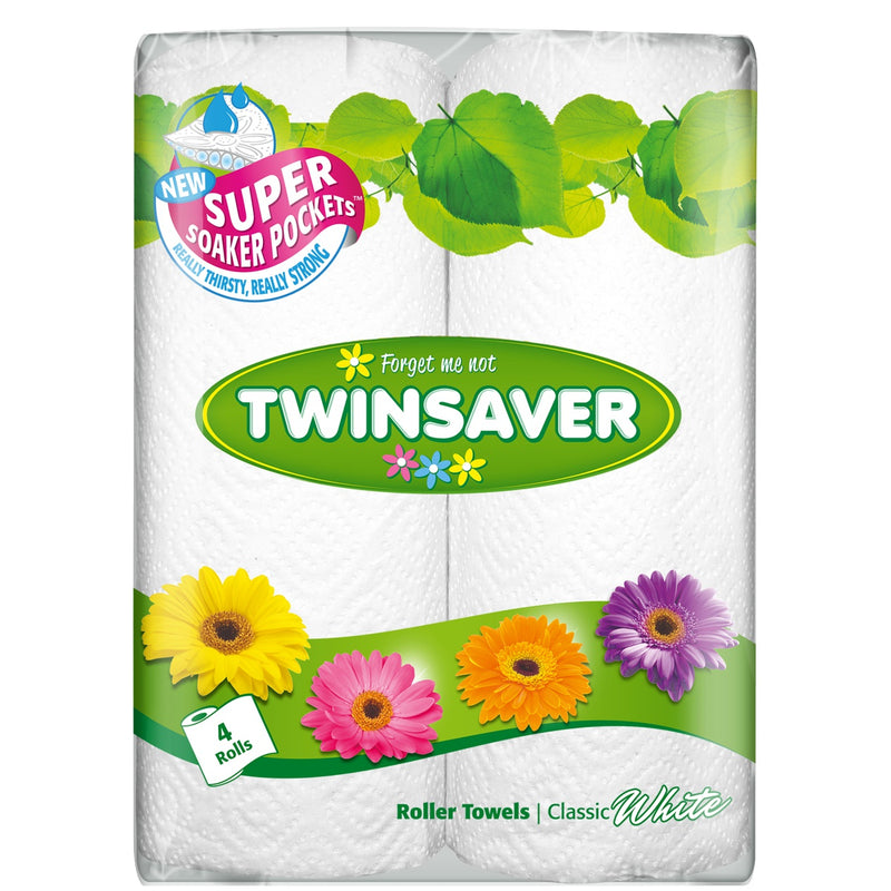 Twinsaver Kitchen Towels 4 Pack