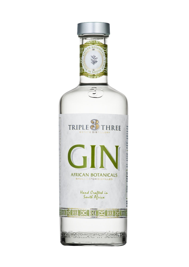 Triple Three Gin African Botanicals 500ml