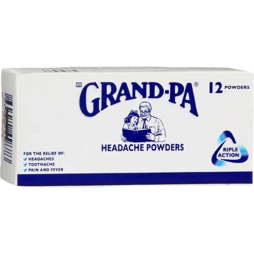 Grand-Pa Headache Powders 12 Pack