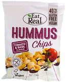 Eat Real Hummus Chips - Tomato and Basil 45g