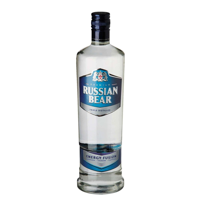 Russian Bear Vodka Energy Fusion