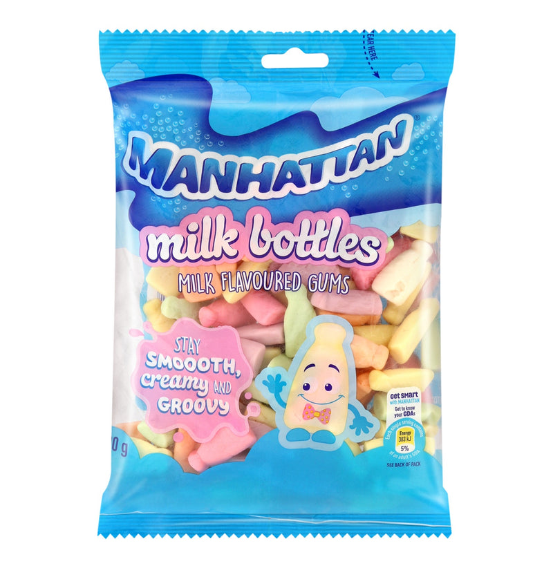 Manhattan Milk Bottles