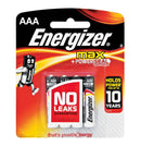 Energizer AAA Pack of 4 Batteries