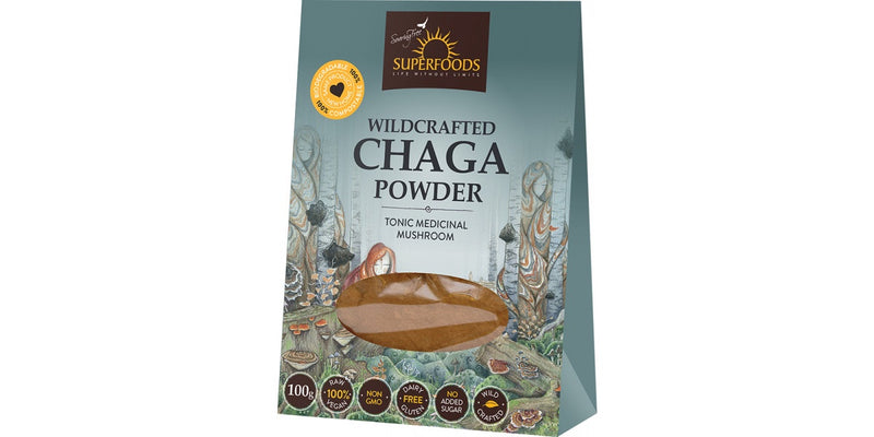 Soaring Free Wildcrafted Chaga Powder 100g