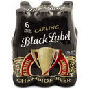 Black Label Beer 340ml Bottle 6 Pack