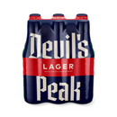 Devil's Peak Lager Beer 330ml 6 Pack