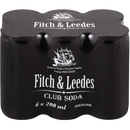 Fitch & Leedes Club  Soda 6 Pack