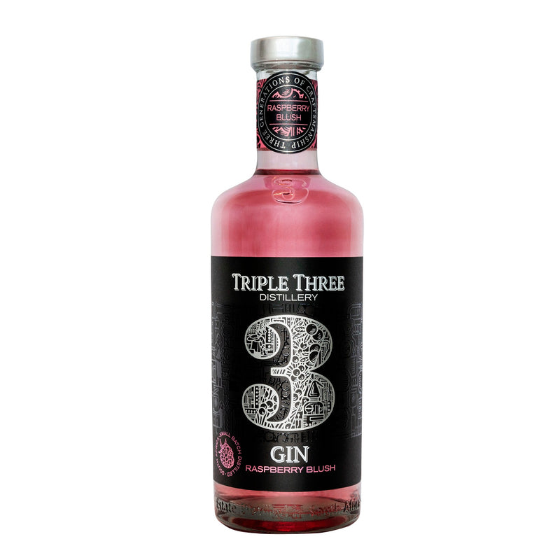 Triple Three Gin Raspberry Blush 500ml