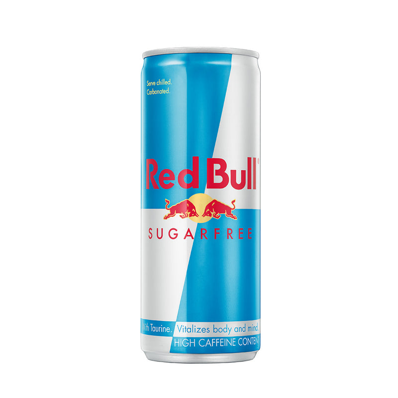 Red Bull Energy Drink Sugar Free 250ml (1 x Can)