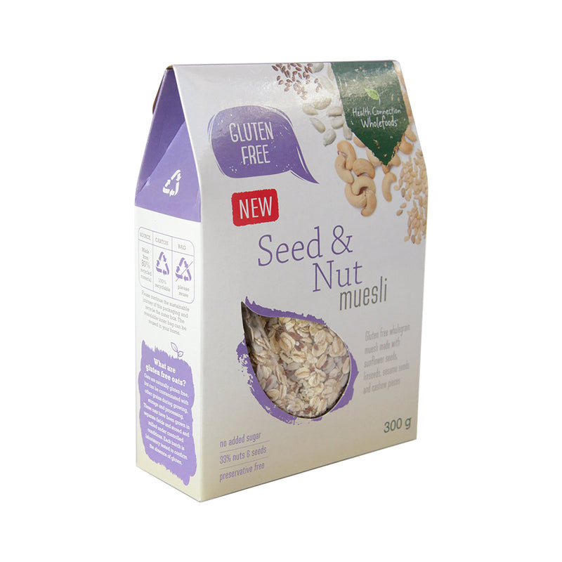 Health Connection - Seed & Nut Muesli 300g