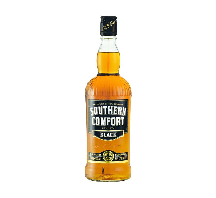 Southern Comfort Black Whiskey Liqueur 750ml