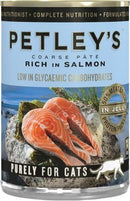 Petley's Cat Food - Pate with Salmon 375g