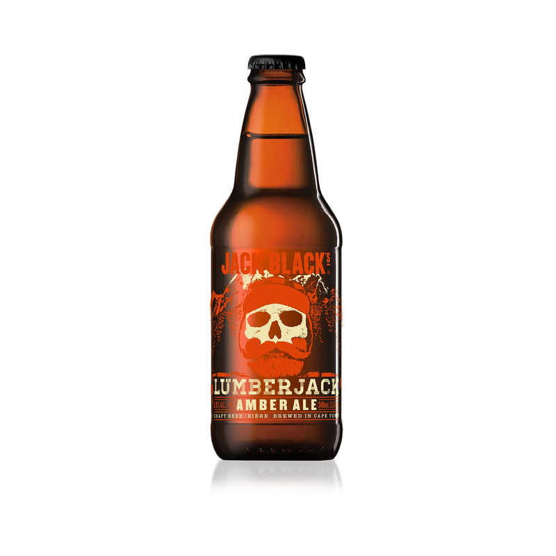 Jack Black Beer Lumber Jack Amber Ale 440ml 4 Pack