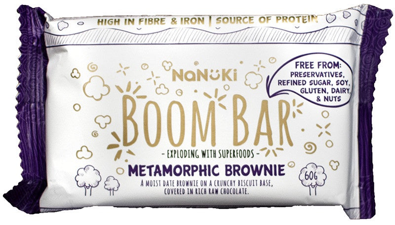 Nanuki Boom Bar Metamorphic Brownie 60g