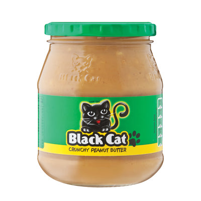 Black Cat Peanut Butter Crunchy 400g