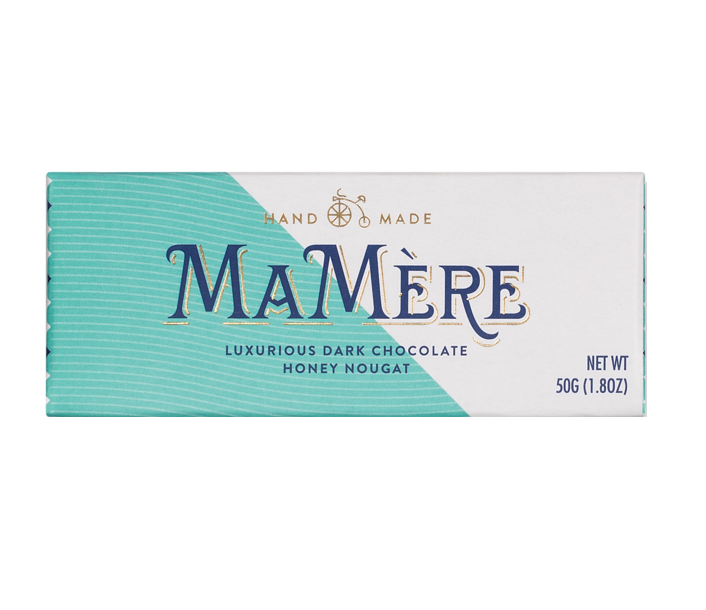 Ma Mère - Luxury Dark Chocolate Nougat Bar